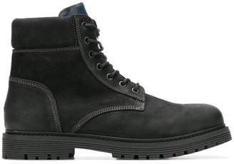 aa23939f2014 Tommy Hilfiger lace up boots