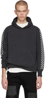 Remi Relief Black Checkered Flag Hoodie