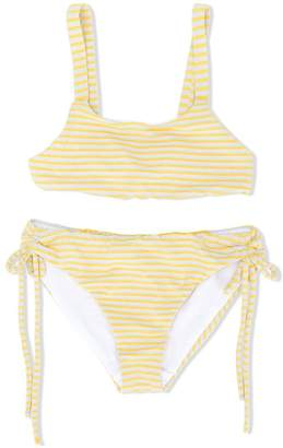 Knot Sunshine stripes bikini
