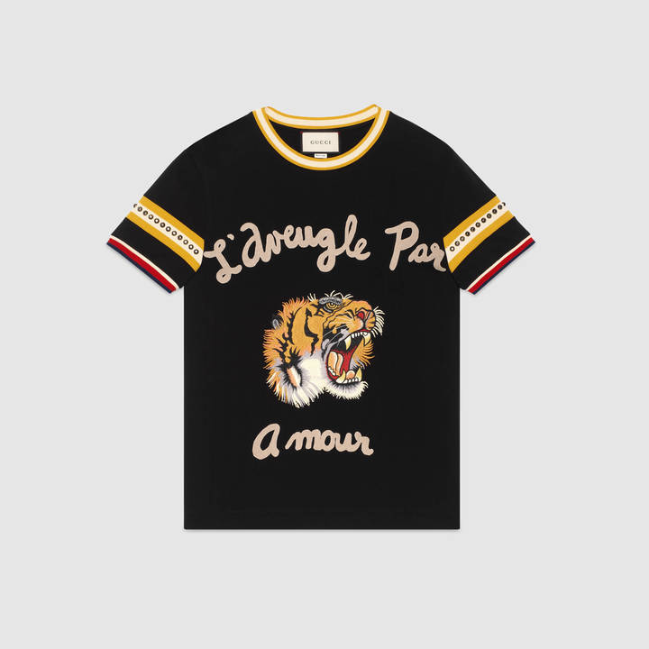 Cotton t-shirt with tiger 4