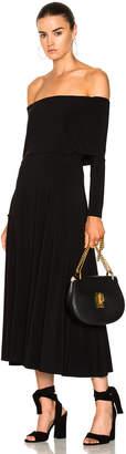 Norma Kamali Flared Dress $200 thestylecure.com