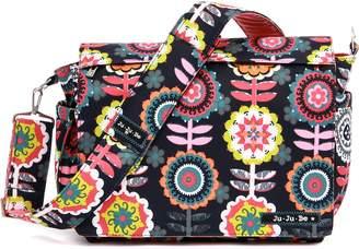 Ju-Ju-Be Dancing Dahlias Better Be Messenger Diaper Bag