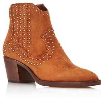 Dolce Vita Women's Dexter Studded Suede Booties - 100% Exclusive