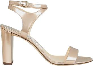Jimmy Choo Marine Leather Sandals