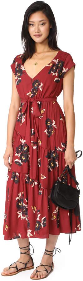 Free People All I Got Maxi Dress 8
