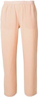 Semi-Couture Semicouture elasticated cropped trousers