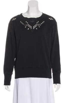 Current/Elliott Embellished Sweatshirt