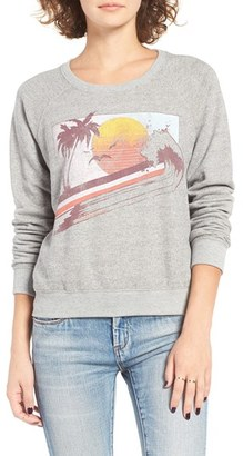 Women's Billabong Drift On The Sea Graphic Sweatshirt $44.95 thestylecure.com