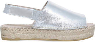 Carvela Kinder metallic leather sandals
