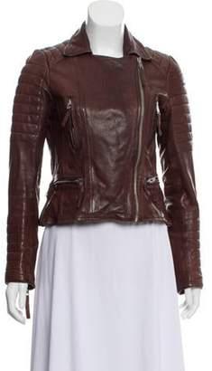 AllSaints Leather Motorcycle Jacket Leather Motorcycle Jacket