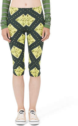 Marc Jacobs Ikat Print Cropped Leggings