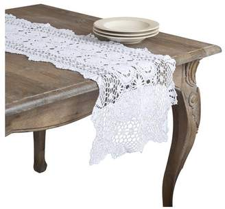 August Grove Cavaillon Lace Runner