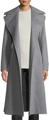 Fleurette Maxi Wrap Wool Coat