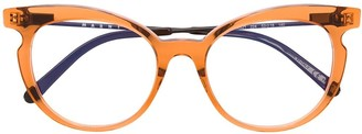 Cat Eye Marni Eyewear cat-eye frame glasses