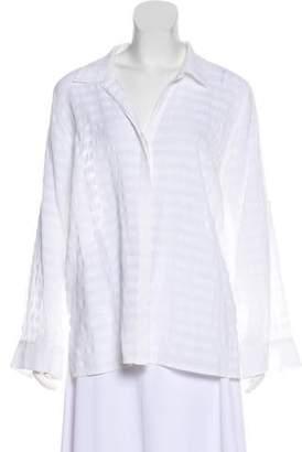 Tommy Bahama Long Sleeve Textured Top