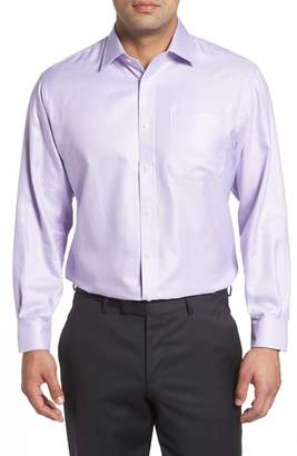 Nordstrom Classic Fit Microgrid Dress Shirt