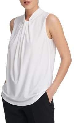 Donna Karan Twist Sleeveless Top