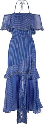 MISA Los Angeles Ambrosia Ruffle Dress
