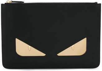 Fendi Bag Bugs zipped pouch