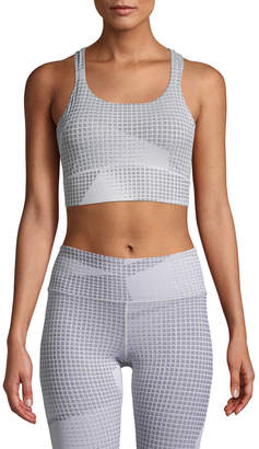 Under Armour Breathelux Jacquard Mesh Racerback Sports Bra