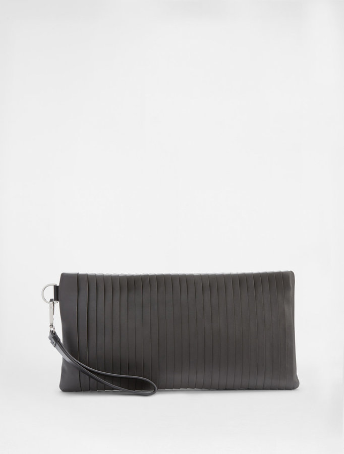 DKNYPleated Clutch