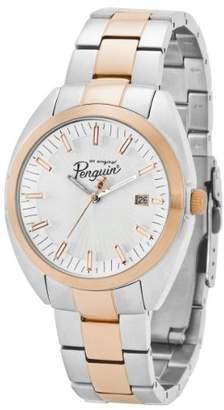 Original Penguin Men's OP3030RG Rex Quartz Analog Rose Gold Bezel Watch