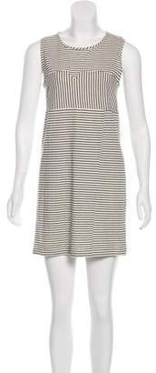 WHIT Striped Mini Dress