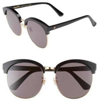 Women's Gentle Monster Deborah 60Mm Retro Sunglasses - Black $249 thestylecure.com