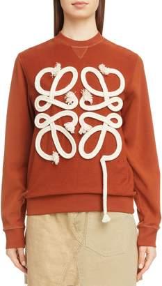 Loewe Rope Logo Sweatshirt