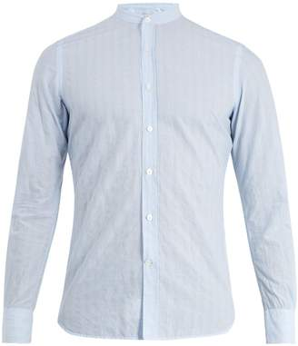 Glanshirt Jared striped cotton-blend shirt