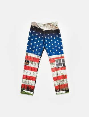 Calvin Klein landscape straight leg jeans