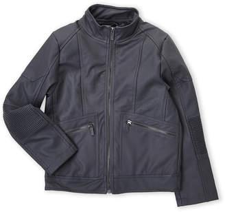 Urban Republic Boys 8-20) Faux Leather Moto Elbow Jacket