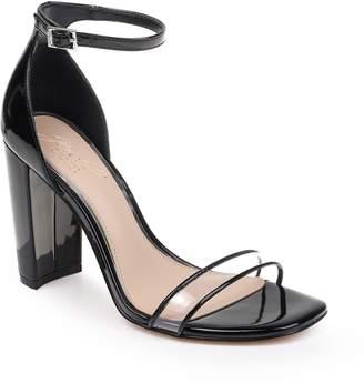 01b7d6f9310f Badgley Mischka Black Strap Women s Sandals - ShopStyle