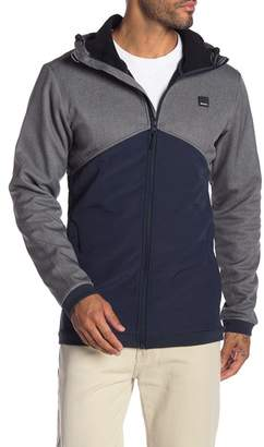 Bench Colorblock Jacket with Hoodie