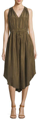 Giada Forte Habutai Silk Self-Tie Empire Dress