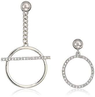 GUESS Mismatched Ears Women's Mismatched Post Drop Earrings