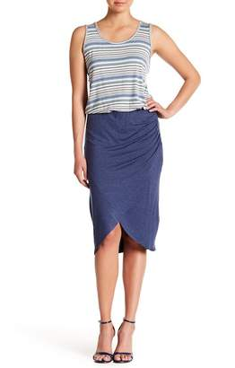 Max Studio Wrap Skirt