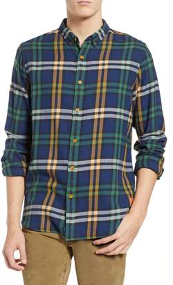 Scotch & Soda Check Flannel Shirt