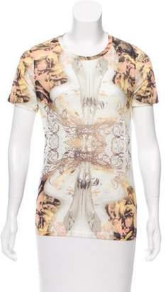 Prabal Gurung Baroque Print Crew Neck T-Shirt w/ Tags multicolor Baroque Print Crew Neck T-Shirt w/ Tags