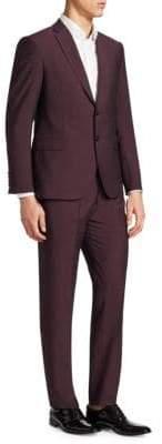 Emporio Armani Merlot M Line Suit