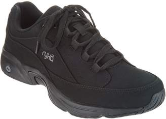 Ryka Canvas_Lace-Up Walking Sneakers - Catalyst