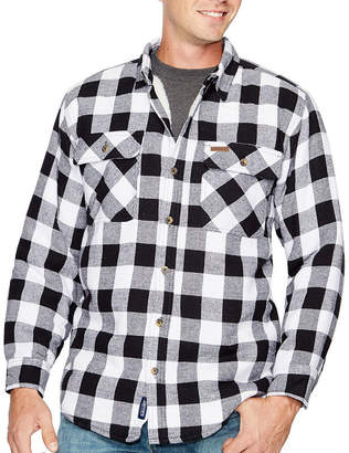 Smith Workwear Smith's Sherpa Lined Flannel Shirt Jacket