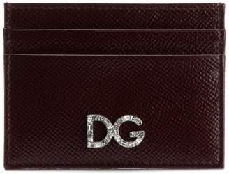 Dolce & Gabbana Dauphin logo embellished card-holder