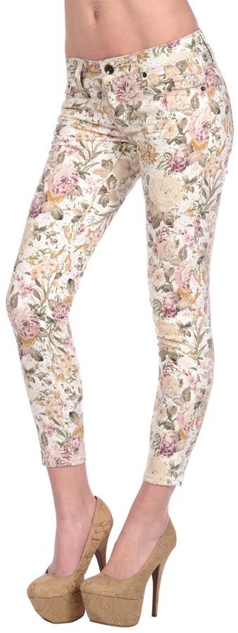 Dollhouse Floral Skinny Jean