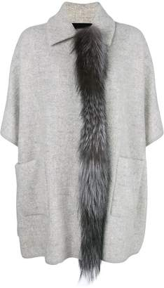 Fabiana Filippi fox fur trim coat
