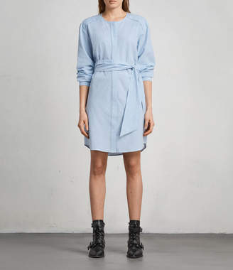 AllSaints Camille Shirt Dress