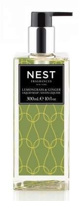 NEST Fragrances Lemongrass & Ginger Liquid Soap, 10 oz./ 300 mL