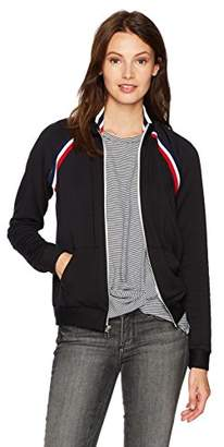 Stateside Women's Fleece Longsleeve Zipper Track Jacket