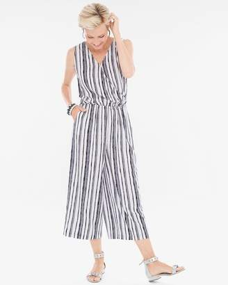 Gaucho Two-Piece Striped Jumpsuit
