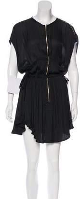 Isabel Marant Pleated Knee-Length Dress